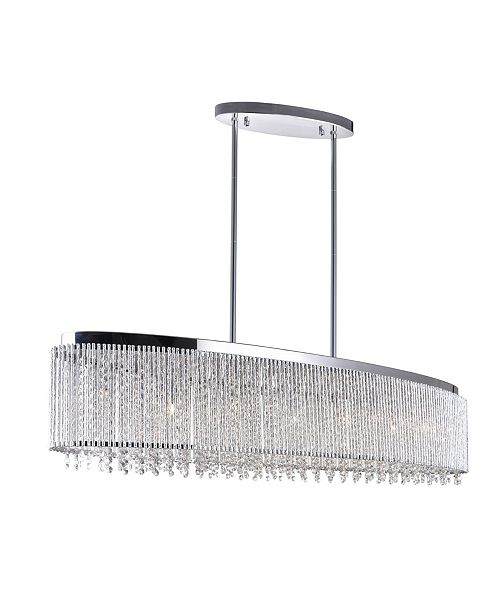 CWI Lighting Claire 7 Light Chandelier