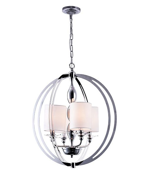 CWI Lighting CLOSEOUT! Pheonix 4 Light Chandelier