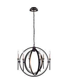 Aurea 6 Light Chandelier