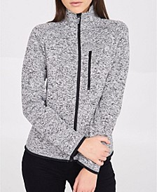 Naylie Short Brushed Back Knitted Jacket