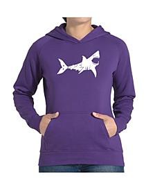 Women's Word Art Hooded Sweatshirt -Bite Me