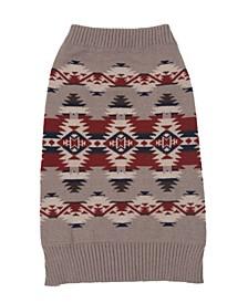 Mountain Majesty Dog Sweater, Large