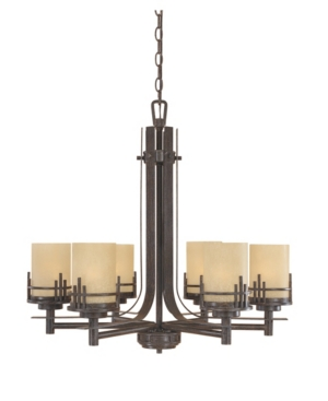 Image of Designers Fountain Mission Ridge 6 Light Chandelier