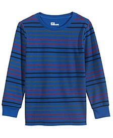 Toddler Boys Multi-Stripe Thermal-Knit T-Shirt, Created For Macy's