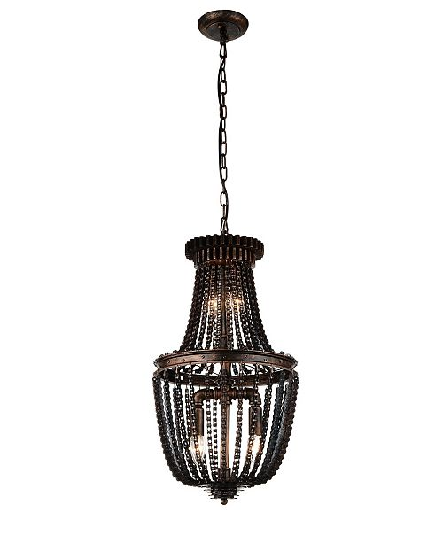 CWI Lighting CLOSEOUT! Kala 4 Light Mini Pendant