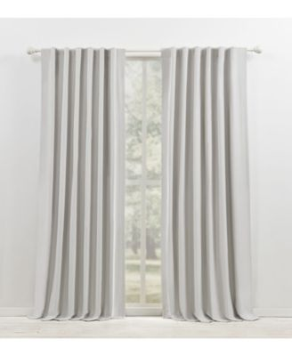 """Waller Blackout Solid Tab/Rod Pocket Curtain Panel, 52"""" x 96"""""""