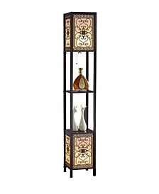 "Infinity 64"" Heart Shelf Floor Lamp"