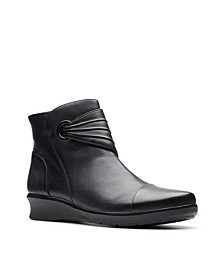 Collection Women's Hope Twirl Leather Booties