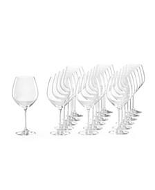 Tuscany Classics Red Wine Glasses, Set of 18