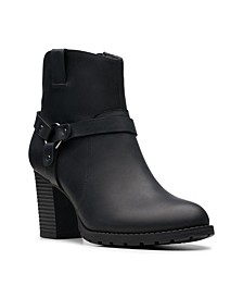 Collection Women's Verona Rock Leather Booties