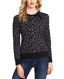 Printed Leopard Sweater