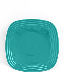 Turquoise Square Luncheon Plate