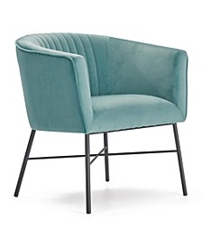 Leone Tufted Accent Chair, Quick Ship