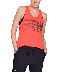 Women's Sport Ombré-Graphic Racerback Tank Top