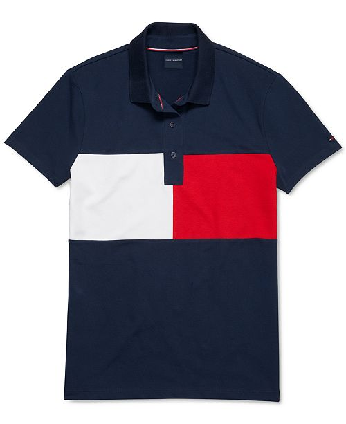 Tommy Hilfiger Women's Polo Shirt With Magnetic Closure