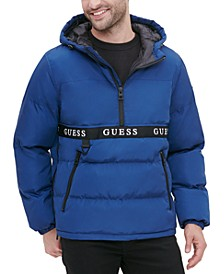Men's Hooded Popover Puffer