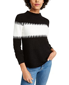 Sophia Mock-Neck Sweater