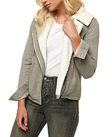 Juniors' Latte 2 Fleece-Lined Coat