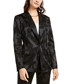 Jacquard Blazer, Created For Macy's