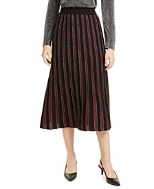Pleated Sweater Skirt, Created for Macy's