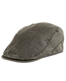 Men's Pieced Flat Top Ivy Cap