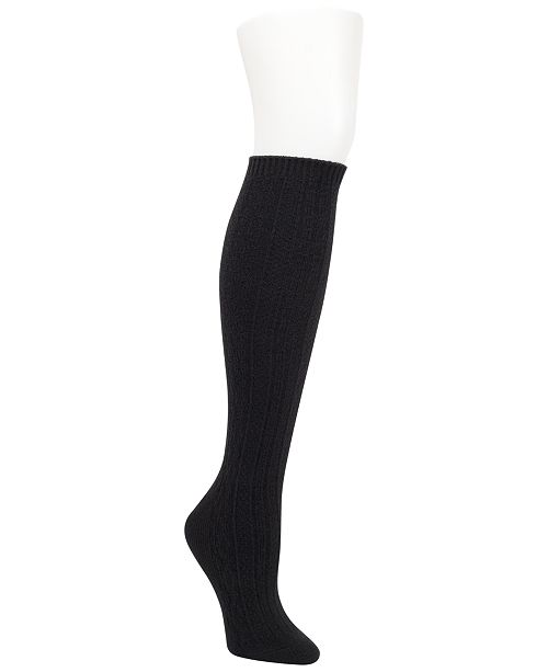DKNY Women's Super Soft Cable-Knit Knee Socks