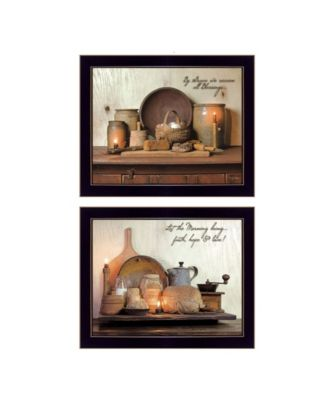 By Grace Collection By Susan Boyer, Printed Wall Art, Ready to hang, Black Frame, 38