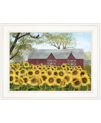 """Sunshine by Billy Jacobs, Ready to hang Framed Print, White Frame, 19"""" x 15"""""""