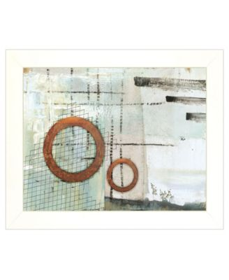 """Balance this I by Cloverfield Co, Ready to hang Framed Print, White Frame, 19"""" x 15"""""""