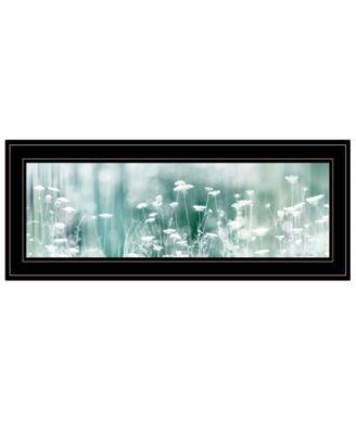"Dreamy Meadow by Lori Deiter, Ready to hang Framed Print, Black Frame, 27"" x 11"""