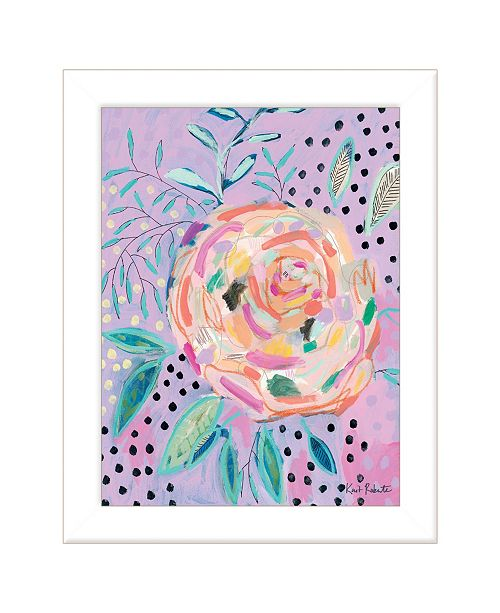 """Trendy Decor 4U Trendy Decor 4U Master the Chaos by Kait Roberts, Ready to hang Framed Print, White Frame, 15"""" x 19"""""""