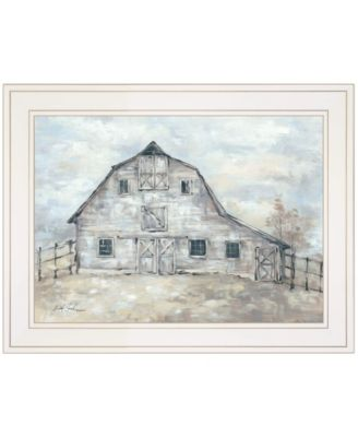 """Rustic Beauty by Debi Coules, Ready to hang Framed Print, White Frame, 19"""" x 15"""""""
