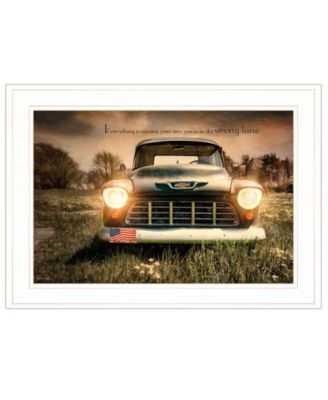 """Wrong Lane by Robin-Lee Vieira, Ready to hang Framed Print, White Frame, 21"""" x 15"""""""