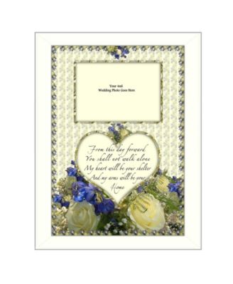 """From this Day By Trendy Decor4U, Printed Wall Art, Ready to hang, White Frame, 14"""" x 10"""""""