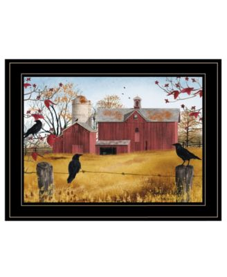 """Autumn Gold by Billy Jacobs, Ready to hang Framed Print, Black Frame, 19"""" x 15"""""""
