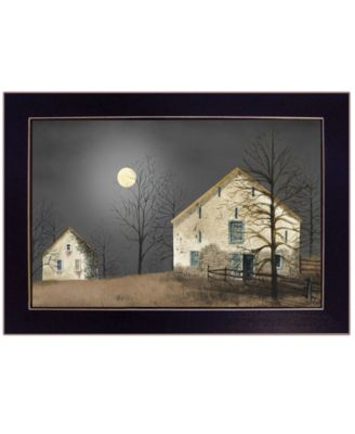 """Still of the Night by Billy Jacobs, Ready to hang Framed Print, Black Frame, 20"""" x 14"""""""