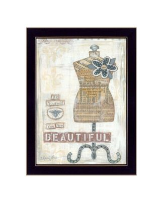 """Beautiful By Annie LaPoint, Printed Wall Art, Ready to hang, Black Frame, 20"""" x 14"""""""
