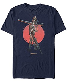 Men's Mandalorian Red Sun IG-11 T-shirt