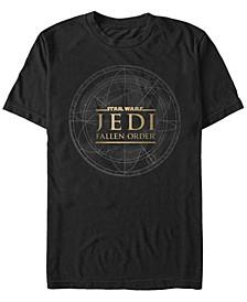 Men's Jedi Fallen Order Map Logo T-shirt