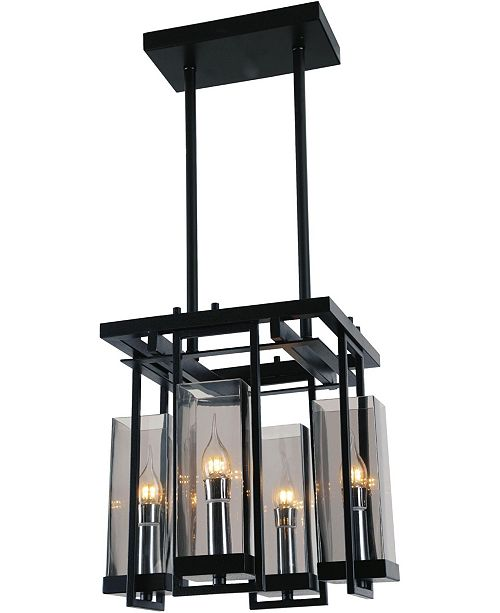 CWI Lighting CLOSEOUT! Vanna 4 Light Chandelier
