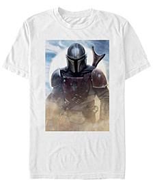 Men's Mandalorian Boba Fett Poster T-shirt
