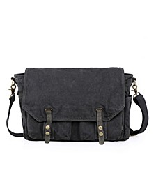 Coastal Canvas Messenger Bag