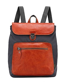 Valley Trail Coated Canvas Backpack