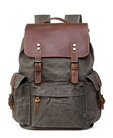 Stone Creek Waxed Canvas Backpack