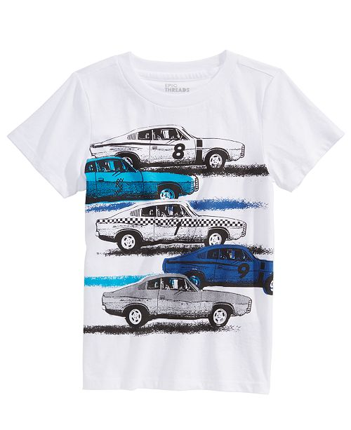 Epic Threads Toddler Boys Vintage Car T-Shirt, Created For Macy's