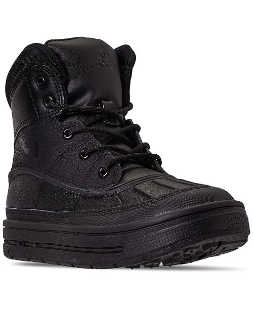 Nike Little Boys Woodside 2 High Top Boots from Finish Line