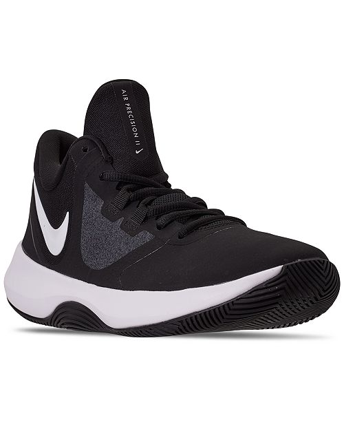 Nike Men's Air Precision II NBK Basketball Sneakers from Finish Line