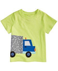 Toddler Boys Truck-Print T-Shirt, Created For Macy's