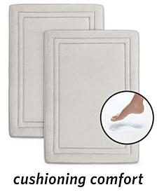 "SpeedDry® 17"" x 24"" 2-Pack Memory Foam Bath Mat Set"
