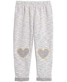 Toddler Girls Heart Trim Trim Jogger Pants, Created For Macy's